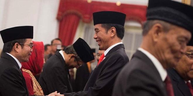 Presiden salami ketu UKP-PIP (foto: Okezone)