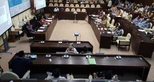 Rapat Pansus RUU Pemilu bersama pemerintah diwakili Mendagri Tjahjo Kumolo (Foto: Bayu Septianto)