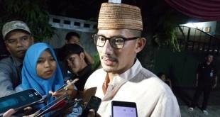 Wagub Jakarta terpilih Sandiaga Uno (Fadel/Okezone)