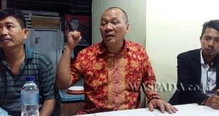 Anggota DPRD Sumut Brilian Moktar saat memberikan keterangan (WOL Photo)