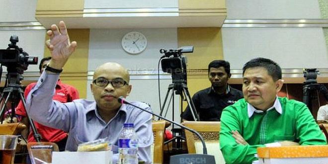 Wakil Ketua Komisi III DPR RI dari Fraksi Partai Gerindra Desmond J Mahesa. (Foto: Okezone)