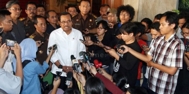 Jaksa Agung HM Prasetyo. (Foto: Arif Julianto/Okezone)