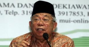 Ketua MUI, KH Ma'ruf Amin (Foto: Okezone)