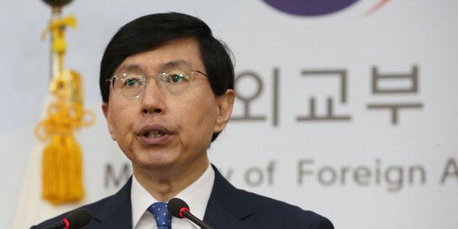 Juru bicara Kementerian Luar Negeri Korea Selatan, Cho June-hyuck (Foto: Korea Herald)