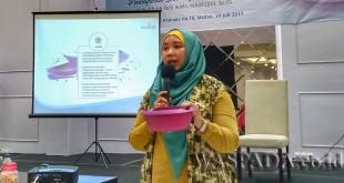 General Manager Marketing Communication Medina, Dewi Hendrati. (WOL Photo/Eko Kurniawan)