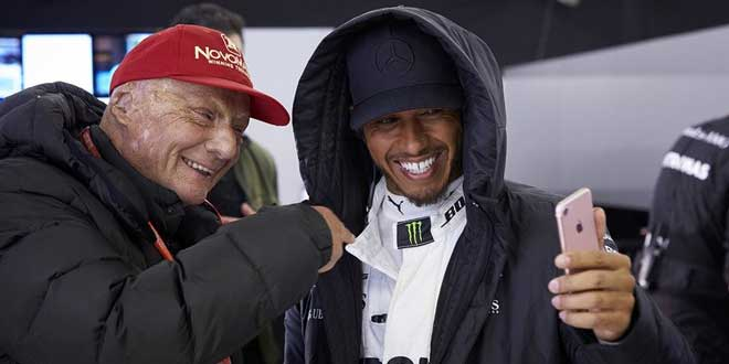 Lewis Hamilton. (Foto: Clive Mason/AFP)