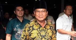 Ketum Partai Gerindra Prabowo Subianto (Foto: Okezone)