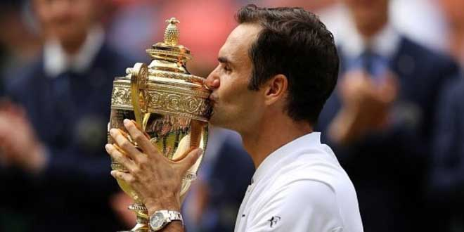 Roger Federer. (Foto: Twitter Wimbledon)
