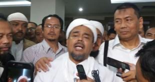 Imam Besar FPI Habib Rizieq. (foto: Istimewa)