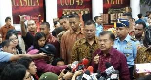 Wakil Presiden Jusuf Kalla (Foto: Bayu Septianto/Dok Okezone)