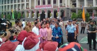 Presiden Joko Widodo hadiri Kongres ke-9 Pancasila (Foto: Okezone)