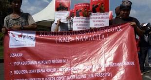 Aksi KMP Nawacita (Foto: Muhammad Iqbal/Okezone)