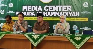 Konferensi pers terkait kasus Novel Baswedan di Kantor Muhammadiyah (Fadel/Okezone)