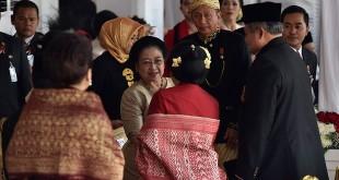 SBY bertemu Megawati di Istana Negara (foto: Antara)