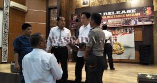 Kasat Reskrim Polrestabes Medan, AKBP Febriansyah. (WOL Photo)