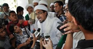 Habib Rizieq Shihab. (Foto: Dokumentasi Okezone)