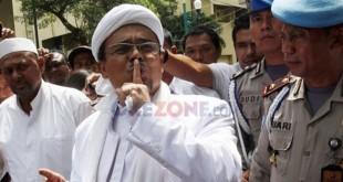 Imam Besar FPI Habib Rizieq (Okezone)