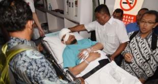 Novel Baswedan dirwat di rumah sakit (Foto: Antara)