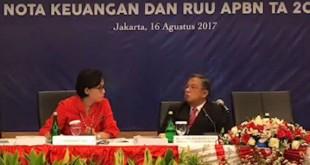 Konferensi Pers Nota Keuangan (Foto: Live Facebook)