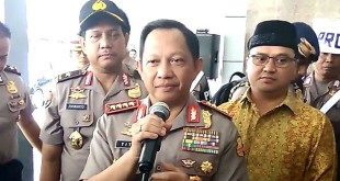 Kapolri Jenderal Tito Karnavian (Foto: Arsan Mailanto)
