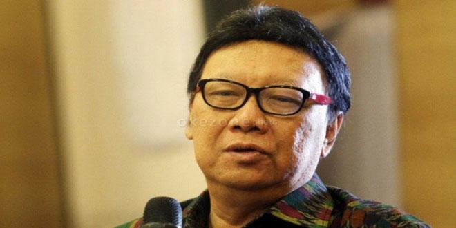 Menteri Dalam Negeri Tjahyo Kumolo