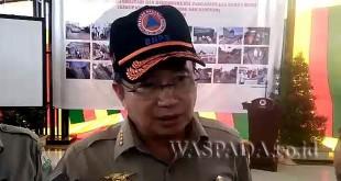 Kepala Badan Nasional Penanggulangan Bencana (BNPB) Pusat, Laksamana Muda (Purn) Willem Rampangilei. (WOL Photo)
