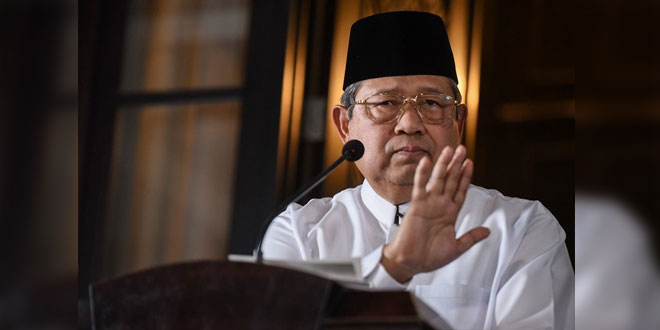 Ketua Umum Partai Demokrat Susilo Bambang Yudhoyono. (foto Antara)