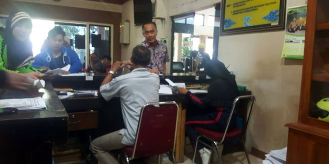 Dirjen Dukcapil, Zudan Arief Fakrulloh saat sidak. (foto: istimewa)