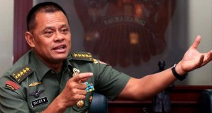 Panglima TNI Gatot Nurmantyo (foto: Okezone)