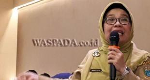 Kadis Pemberdayaan Perempuan dan Perlindungan Anak Sumatera Utara, Nurlela. (WOL Photo)