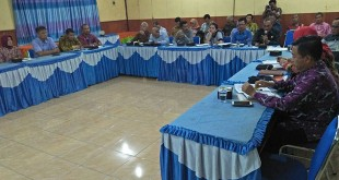Sekretaris Perwakilan Bkkbn sumut, Dra Rabiatun Adawiyah beserta jajaran sambut hangat kunjungan Komisi C DPRD Batubara, Selasa (3/10) lalu. (Ist)