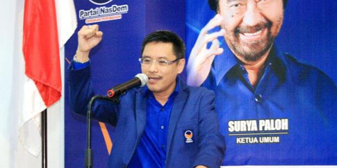 Sekretaris Dewan Pimpinan Partai Wilayah (DPW) Partai NasDem Sumatera Utara, Iskandar ST. (foto: Ist)