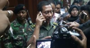Kapusepen TNI Mayjend Wuryanto saat beri ketarangan ke awak media (Foto: Arie Dwi Satrio/Okezone)