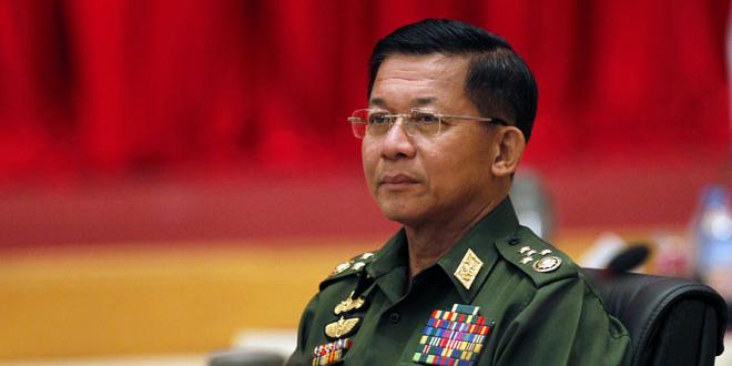 Panglima Angkatan Bersenjata Myanmar Min Aung Hlaing (foto: ist)