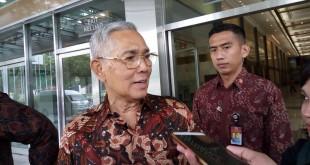Mantan Wakil Presiden Try Sutrisno (dok. Okezone)