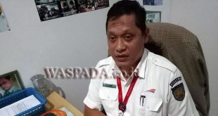 Manager Humas PT KAI (Persero) Divre I SU l, Ilud Siregar. (WOL Photo)