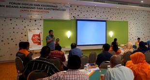 Focus Group Discussion (FGD) bertajuk Kerjasama Peningkatan Keterampilan Pendidikan Agrikultur antara SMK Binaan JAPFA Foundation dan JAPFA Group, yang berlangsung hari ini di Jakarta, Senin (16/10). (foto: Ist)