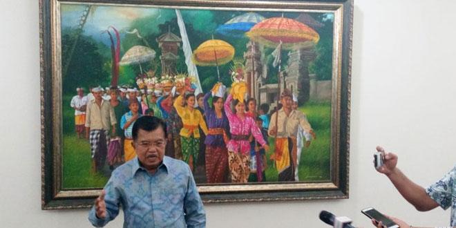 Wakil Presiden Jusuf Kalla (Foto: Reni/Okezone)