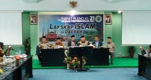Rapat pleno MUI bahas lanskap Islam di nusantara. Foto Okezone/Muhamad Rizky