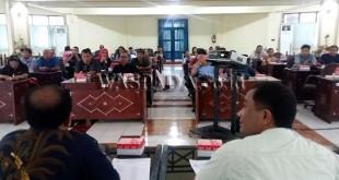 Kunjungan Studi Komperatif Wartawan DPRD Medan ke DPRD Kabupaten Lombok Barat, Kamis (5/10).