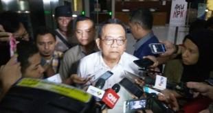 Wakil Ketua DPRD DKI, M. Taufik usai diperiksa penyidik KPK (foto: Arie/Okezone)