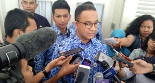 Gubernur DKI Jakarta Anies Baswedan (Foto: Fadel/Okezone)
