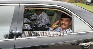 foto: Bupati Aceh Utara, H Muhammad Thaib atau Cek Mad. (WOL Photo/chairul sya'ban)