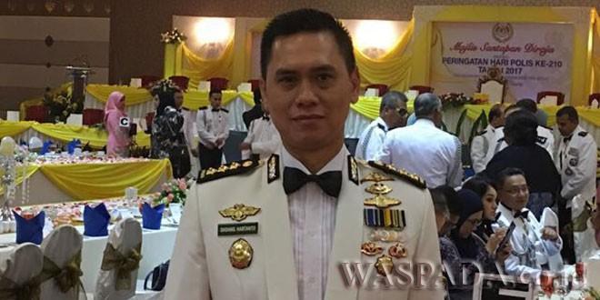 Kapolrestabes Medan yang baru, Kombes Pol Dadang Hartanto.