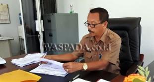 Kepala Dinas Kependudukan dan Catatan Sipil Kabupaten Aceh Utara, Mohd Zulfadli.(foto: chairul sya'ban)
