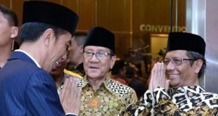 Presiden Jokowi menghadiri Munas KAHMI (Foto: Biro Pers Istana Kepresidenan)