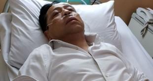 Setya Novanto setelah mengalami kecelakaan. Foto Ist