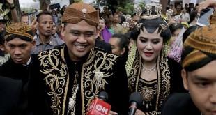Kahiyang Ayu dan Bobby Nasution. © KapanLagi.com/Bayu Herdianto