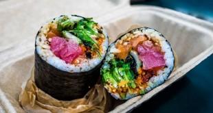 Burito Sushi (Foto: Mashed)