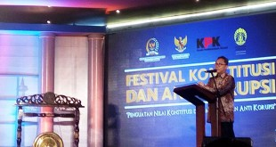 Ketua MPR, Zulkifli Hasan saat di UI (foto: Reni/Okezone)
